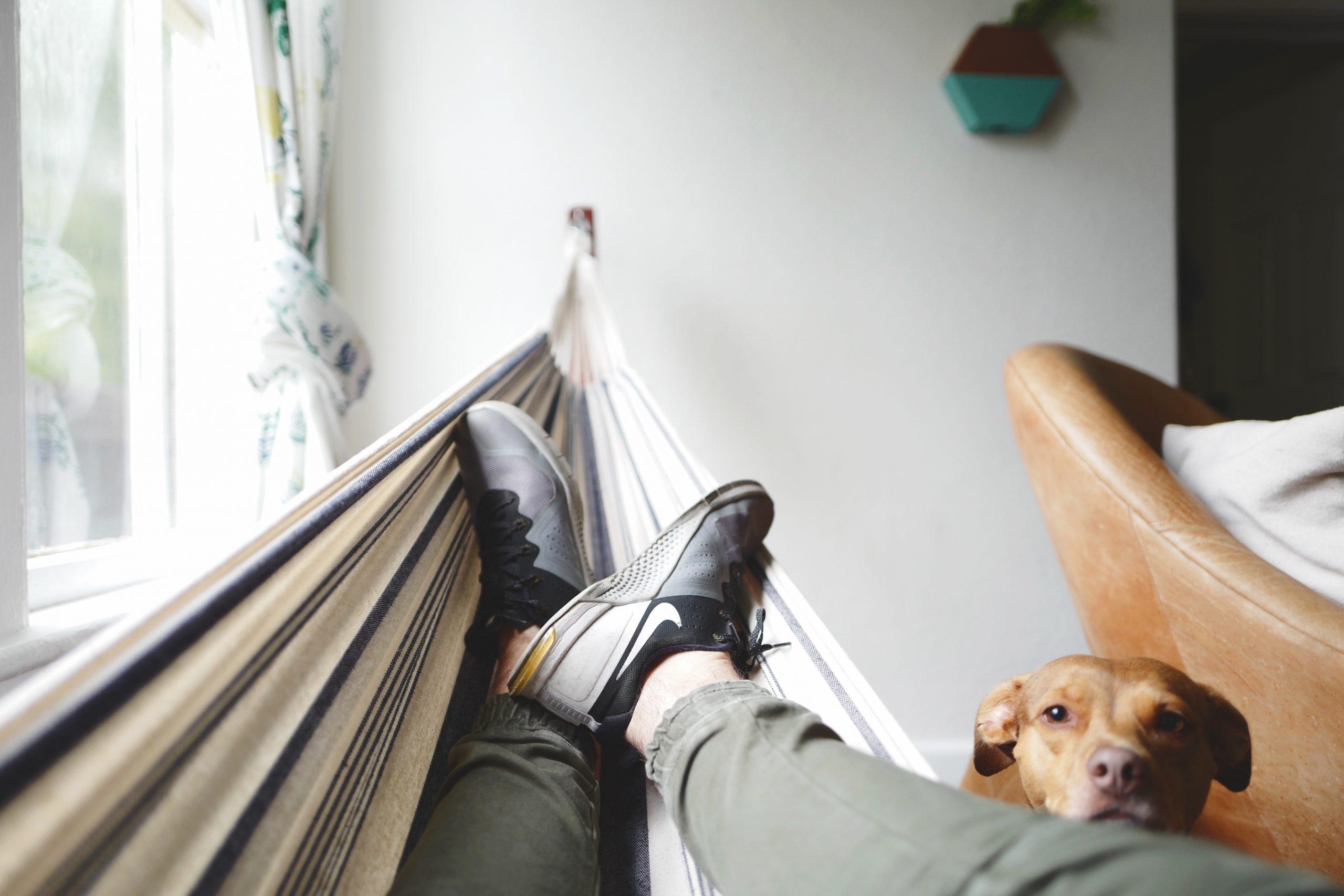 Relaxing is ok!